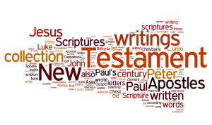 Bible Formation Wordcloud