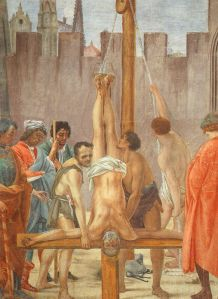 Crucifixion of Peter, Filippino Lippi