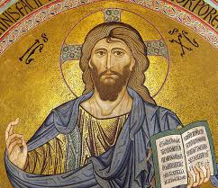Jesus with Bible