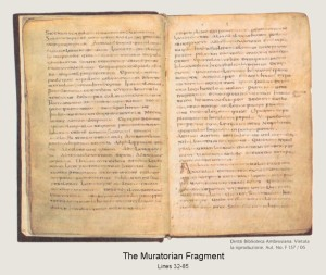 The Muratorian Fragment