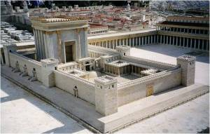 Model of the Second Jewish Temple