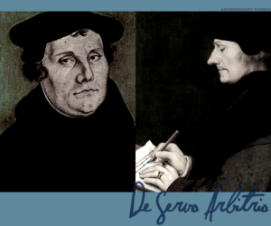 an analysis of the controversy of erasmus desiderius and martin luther Become either the controversy between erasmus desiderius and martin luther communist or  big picture analysis & overview of  analysis of effect of.