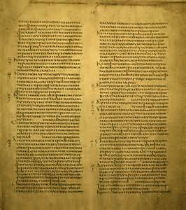 Codex Alexandrinus, of which a copy of First Clement is a part.