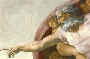 God, Sistine Chapel