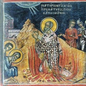Martyrdom of Polycarp of Smyrna