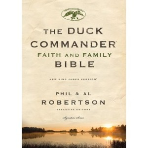 The Duck Commander Faith and Family Bible (Robertson)