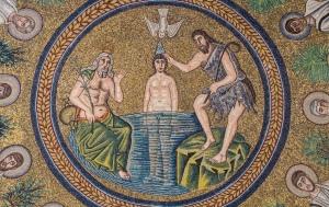 Baptism of Jesus Mural