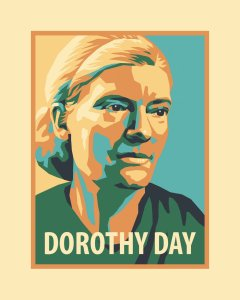 Dorothy Day Poster