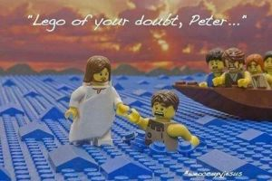 Lego of your doubt,