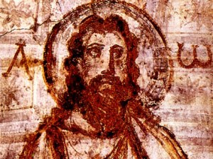 Catacombs Image of Christ