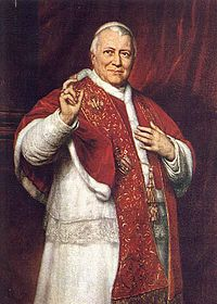 Pope Piux IX