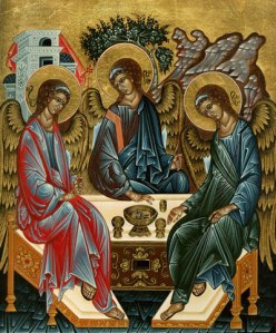 Icon of the Holy Trinity (Rubilev)
