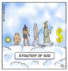 The Evolution of God (Comic)