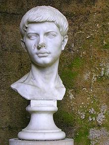 Bust of the Roman Poet Virgil