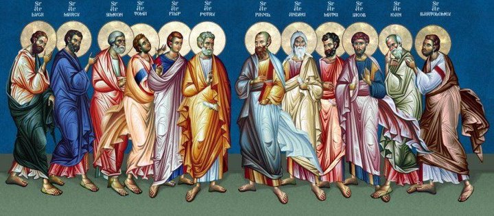 Image result for icon 12 apostles