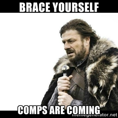 Brace Yourself Comps Are Coming