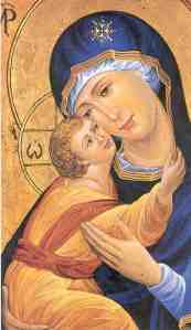 Byzantine Icon of Mary