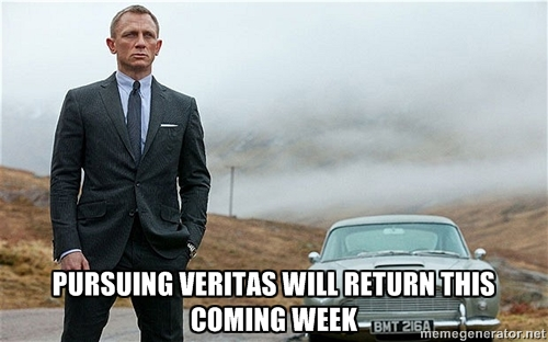Pursuing Veritas Will Return