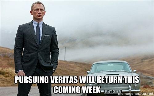 Pursuing Veritas Will Return