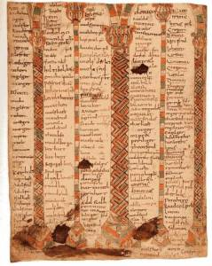 Copy of Tatian's Diatessaron