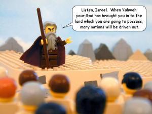 Lego Moses