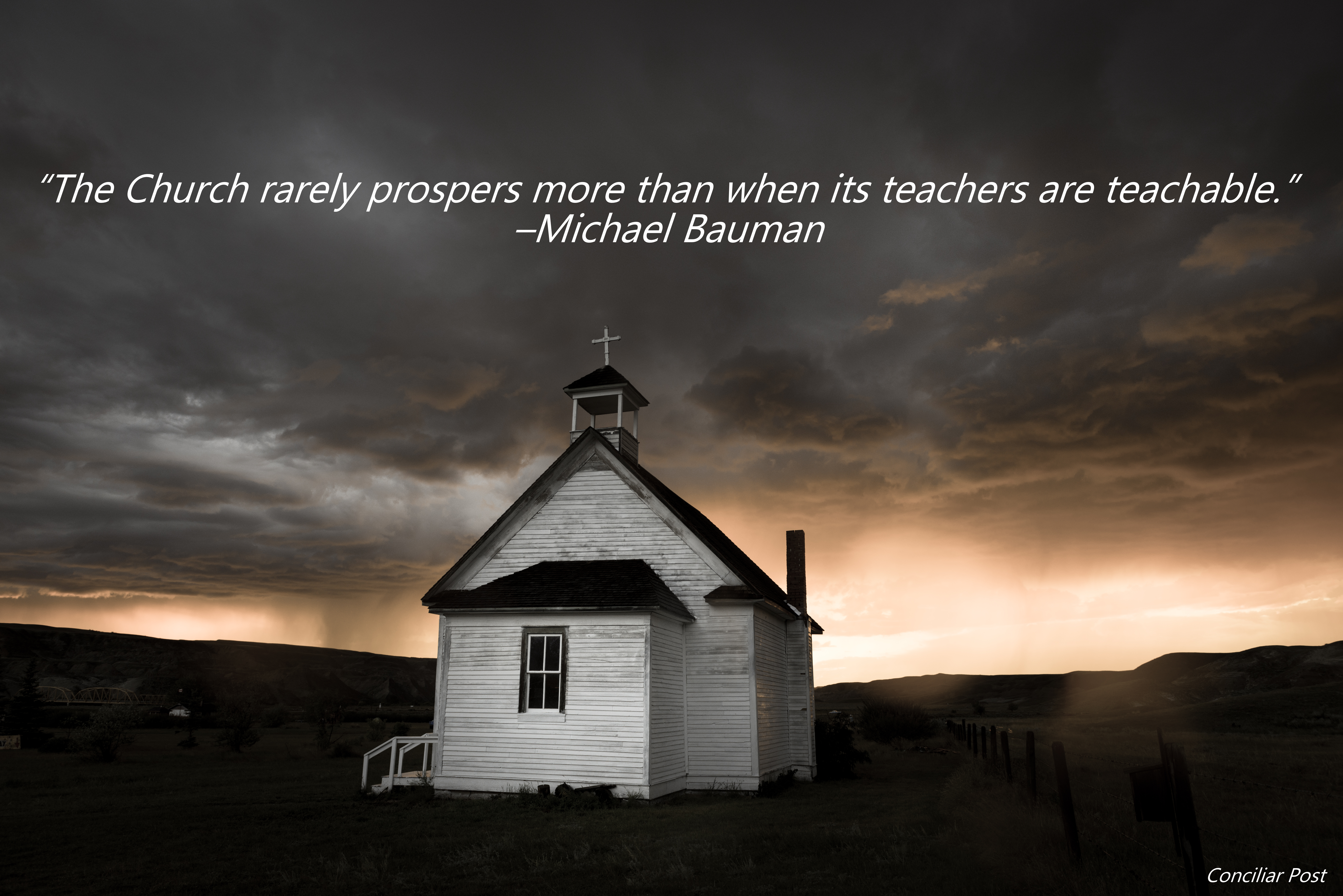 Bauman Quote about the Church