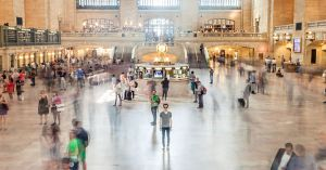 Grand Central Station in Motion